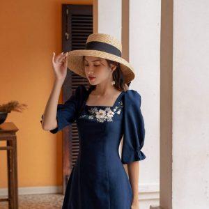 Đầm freesize thiết kế đơn giản