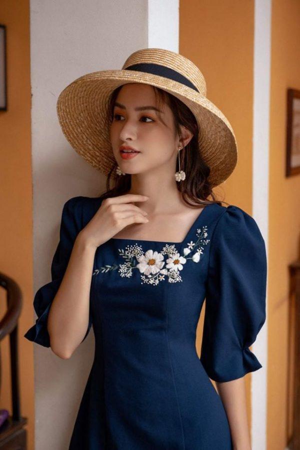 Đầm freesize thiết kế đơn giản 2