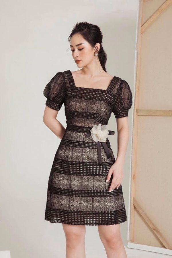 Váy đầm chất ren mềm mại 3