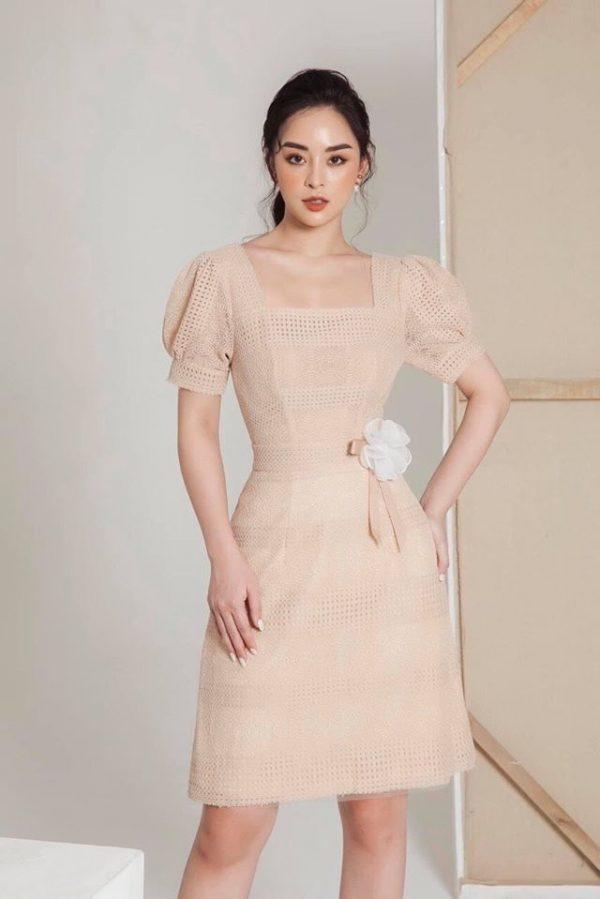 Váy đầm chất ren mềm mại 1