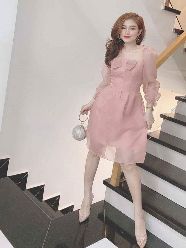 Váy đầm lụa 1