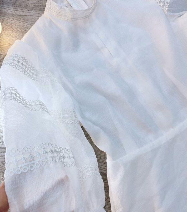 Đầm tiểu thư tay phồng 3