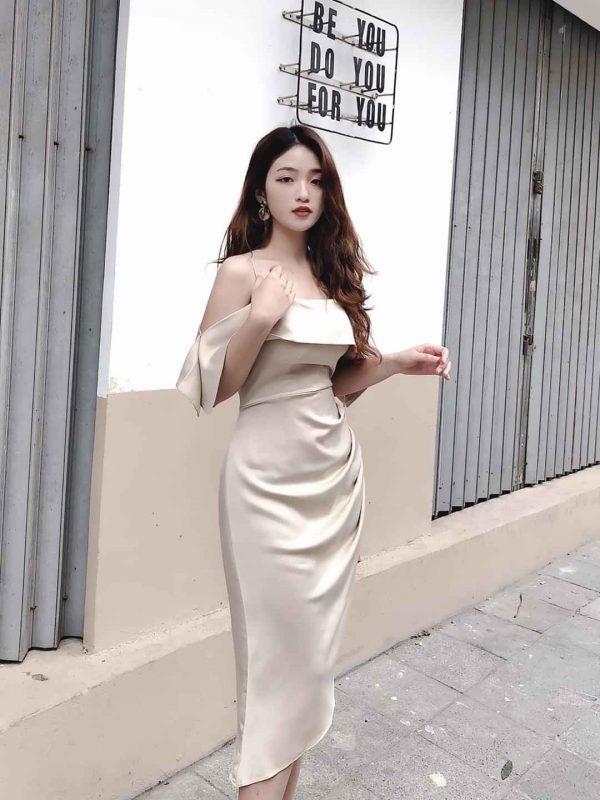 Đầm body 2 dây 3