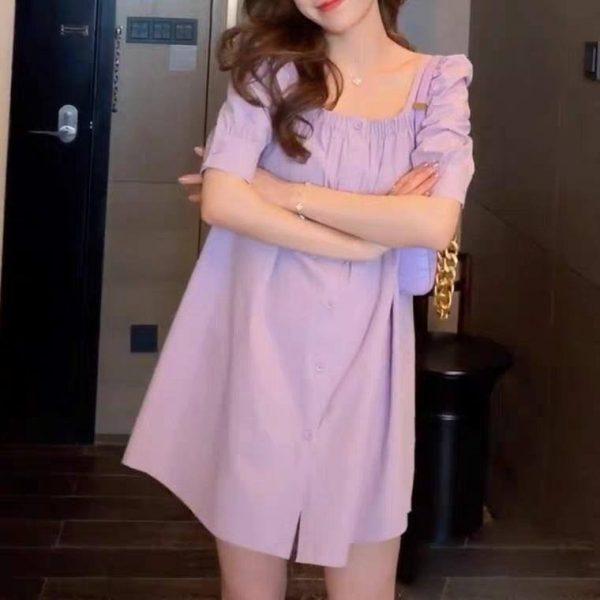Đầm suông baby doll 3