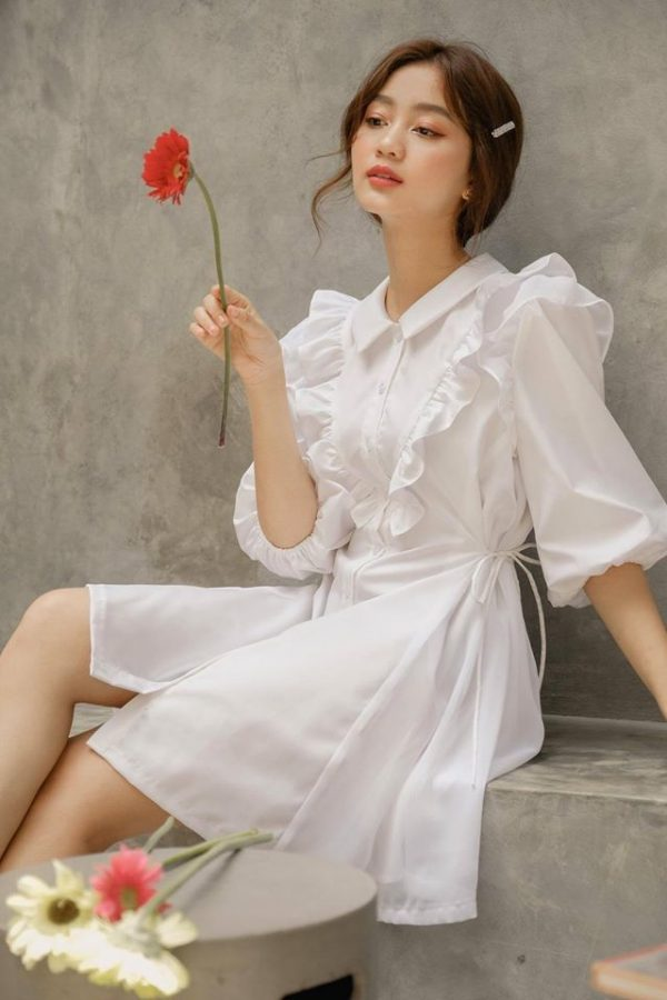 Đầm suông lụa cao cấp 2