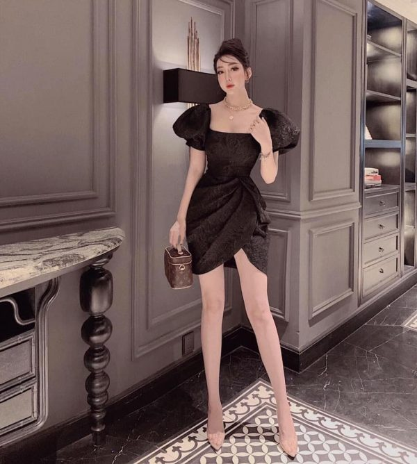 Váy Đầm Chất Gấm Siêu Hot 3