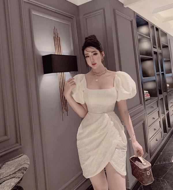 Váy Đầm Chất Gấm Siêu Hot 2