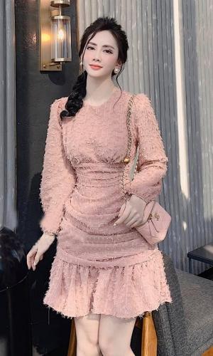 Váy Đầm Chất Lông Vũ Siệu Xịn