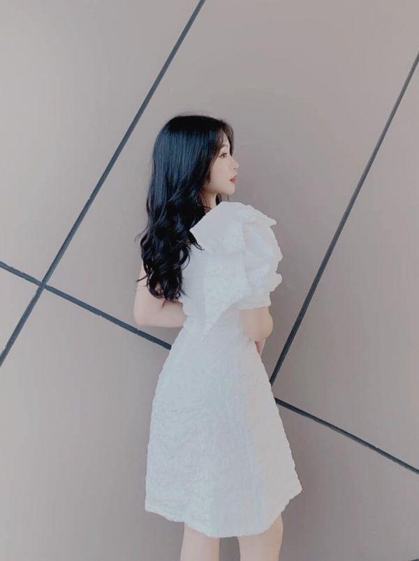 Váy đầm gấm hoa siêu hot 3
