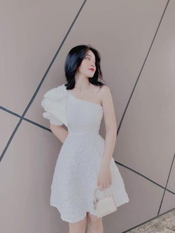 Váy đầm gấm hoa siêu hot 2